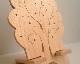 Tree of life model phone holder