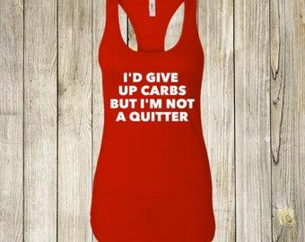 not a quitter workout shirt, workout shirt, workout tank, funny workout tank, funny workout shirts, gym shirt, funny gym shirt
