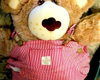 FURSKINS STUFFED BEAR, 22  Inches Tall, Designed by Xavier Roberts, (designer of the Cabbage Patch Kids).