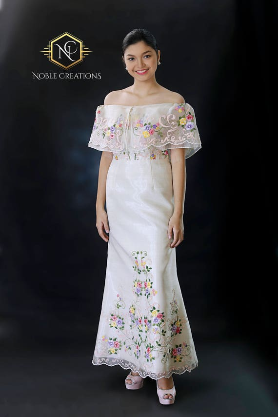 Hand Painted Gowns