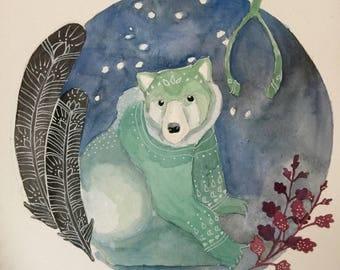 Bear and Wishbone