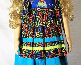 Girls ABC dress