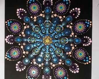 Handmade Dot Art Painting