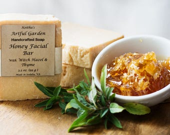 Honey Facial Bar----Your face will love you !  Filled with skin-loving ingredients !