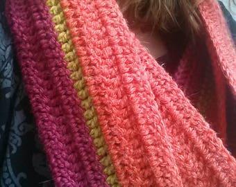 Warm Colors Scarf - écharpe couleurs chaudes