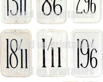 Mixed Up Printables - Vintage Price Tickets