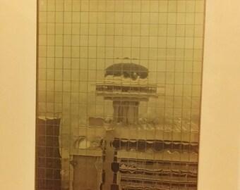 "1971 Atlanta Ga Photograph ""Regency Reflection"""