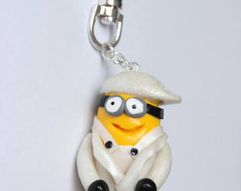 Door keys Minion costume marie Fimo