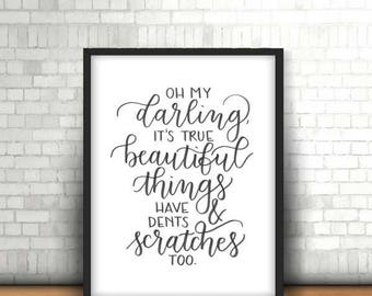 Beautiful Things Print