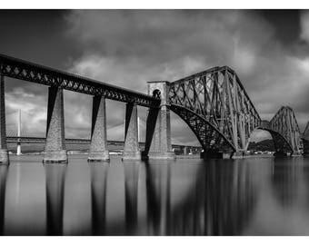 Classic Forth Rail Bridge, South Queensferry, Scotland