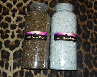 Bronze or Silver Fine Grain Sand & Glitter - For Decor - Engraving - Hoodoo Conjure 100g, 200g 500, 900g