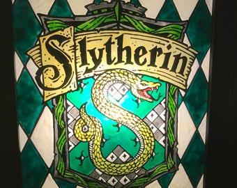 Slytherin House Crest Light-Box