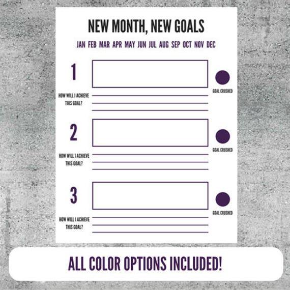 Printable goal setting worksheet goals goal tracker plan printable goal setting worksheet goals goal tracker plan goal planning accomplishments organize pronofoot35fo Images