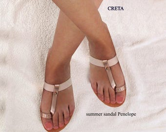 Sandals Womens,Womens Sandals,Leather Sandals ,Wedding Sandals,Greek Leather Sandals, Rose Gold Sandals,Toe Ring Sandals, CRETA