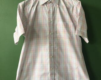 M&S short sleeve multi color men's shirt