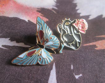 Butterfly and heart pine for accessories