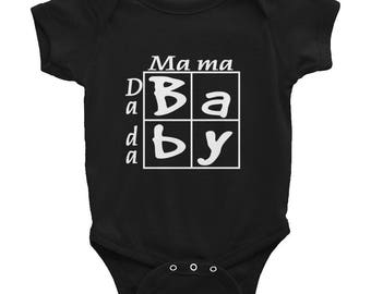 Baby Punnet Square Infant Bodysuit