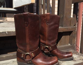 Rodeo Drive Motorcycle Boots