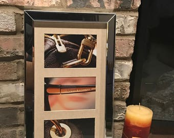 Louis Vuitton Wall Art, Home Decor, Framed Mirror Wall Art, the PERFECT Birthday, Holiday, Housewarming Gift