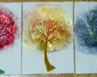 Angelina fibre tree cards