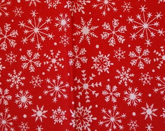 Dribble Bandana Bib- Snowflake scandi
