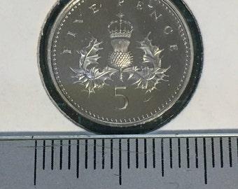 1 x 1994 5 Pence Coin - U.K.
