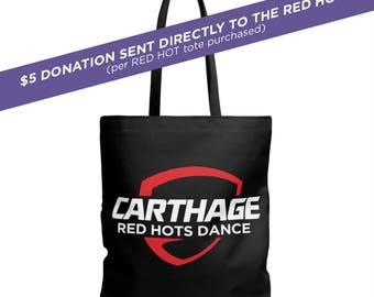 Red Hots Dance PromoTote