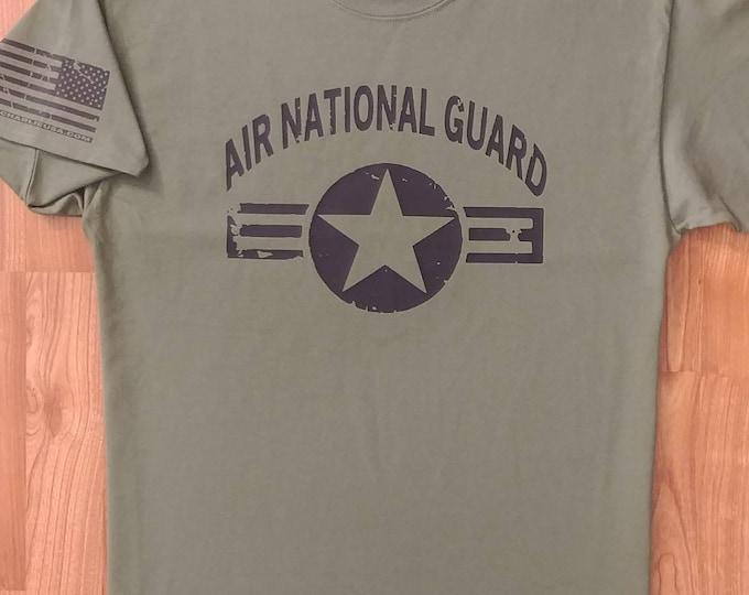 Air National Guard - Air Force - Mens Air Force Shirt - Womens Air Force Shirt - Air Force Veteran - USAF - Air Force Wife - USAF Shirt