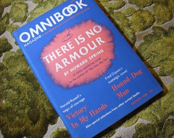 Vintage Omnibook Magazine June 1949 Issue - Best Selling Book Abridgements There is No Armour, Victory in My Hands, Hound-Dog Man, and More!