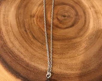 Sparkly Cz Round Chain Necklace