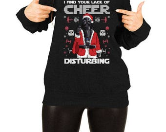 Funny Xmas Gifts For Women Christmas Quotes Holiday Party Xmas Clothing Christmas Humor X-Mas Off The Shoulder Slouchy Sweatshirt TEP-560