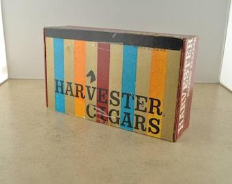 Vintage Harvester Cigars Box