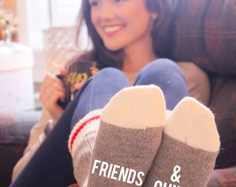 Friends & Chill Cabin Socks