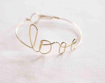 LOVE love Message BRACELET