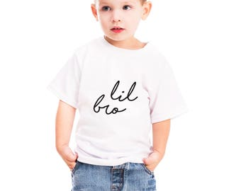 lil bro tshirt, lil bro out fits, lil brother, little brother gift, little brother shirt