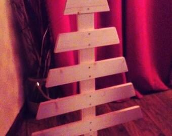 Xmas tree, wooden