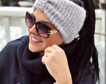 knit headband - earwarmer