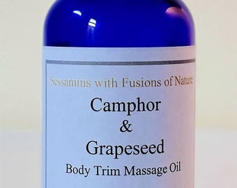 Camphor and Grapeseed Massage Oil