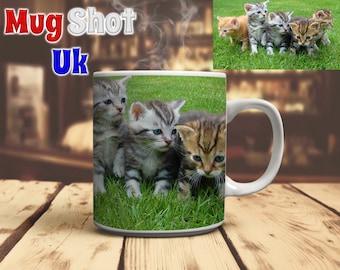 Kittens Coffee Mug Cat Lover Gift