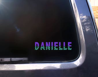 Mermaid Car Decal Etsy - Mermaid custom vinyl decals for car