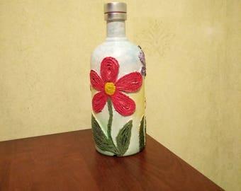 bottle vase decor for home gift for everybody