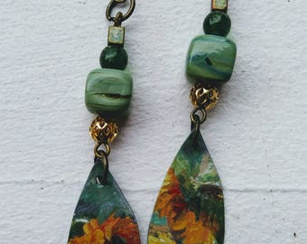 Sunflower Love earrings