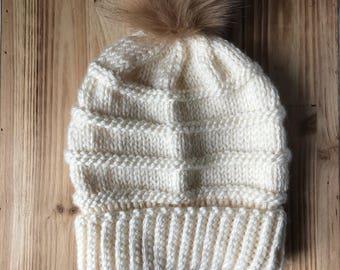 CHELSEA BEANIE    Knitting Pattern