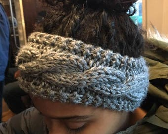 Cabled Knit Ear Warmer