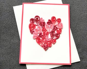 Quilling card  Etsy