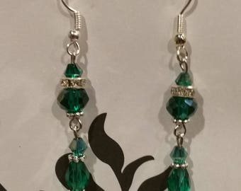 S.S. Swarovski crystals Earrings