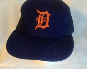 Vintage Detroit Tigers MLB Snapback Hat by ANNCO