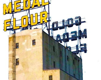 Gold Medal Flour Decal
