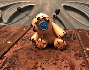 Clay Voodoo Doll