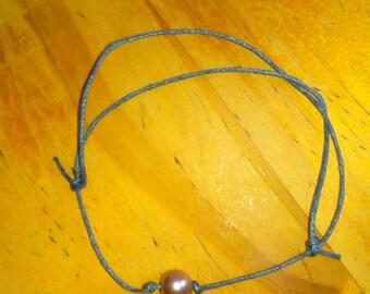 Bracelet sliding Pearl Brown clear